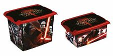 Set of Two Fashion Box Disney Star Wars 20L +10L Storage Box Toy Box