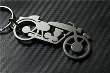 Triumph VINTAGE keyring keychain porte-clés MOTORBIKE RETRO BONNEVILLE INDIAN