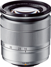 Silver Fujifilm Fujinon XC 16-50mm OIS MK II F/3.5-5.6 ED Aspherical Fuji Lens