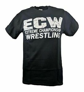 ECW Politically Incorrect Damn Proud Wrestling Black T-shirt