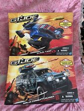 GI Joe Retaliation Ninja Combat Cruiser w/Night Fox Hiss Tank w/ Cobra Commander