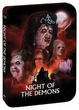 NIGHT OF THE DEMONS limited steelbook - Region A - BLU RAY - Sealed