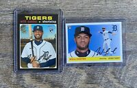 WILLI CASTRO ROOKIE LOT 2020 Topps Heritsge High Number Archives #526 #16