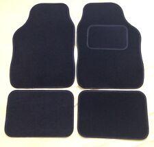 CAR FLOOR MATS- BLACK WITH BLACK TRIM FOR VW GOLD PASSAT POLO BORA LUPO SCIROCCO