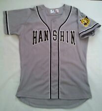 RARE BY WORLD SPORTS GOODS OSAKA HANSHIN TIGERS BASEBALL JERSEY SIZE L