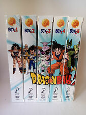 Dragon Ball Z - 5 DVD Box (1, 2, 3, 4 y 5) Selecta Vision - Versiones Españolas