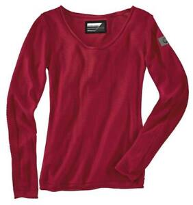 New BMW Dynamic Pullover Women's L Red #76878552797