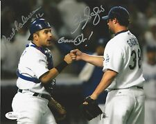 Eric Gagne & Paul Loduca Signed Los Angeles Dodgers 8X10 Photo JSA# W801862