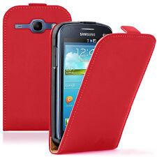 Etui Coque Housse PU Cuir Véritable Cover Samsung Galaxy Core LTE 4G SM-G386F