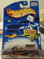 Hot Wheels Montezooma #183 Race & Win Online card