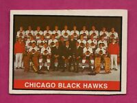 1974-75 OPC # 315 HAWKS LIGHT MARKED TEAM CHECKLIST  CARD (INV# A6741)