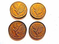 """1964 - 1970 Republic Of Chile Ten Centesimos Coin """"One Coin Per Purchase"""""""