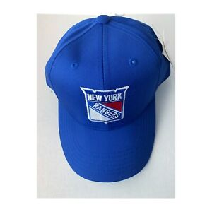 New York Rangers Hockey NHL Snapback Blue Hat Cap VINTAGE with Tags Youth Size