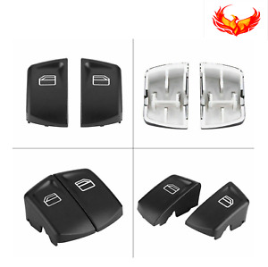 2006-2016 Mercedes & Freightliner Sprinter Left Front Window Switch Cover Caps