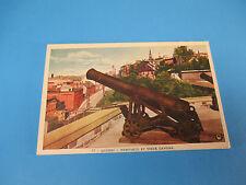 Remparts Et Vieux Canons, Quebec,Canada Vintage Colorful Postcard Unused PC16