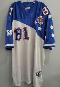 Mitchel & Ness 1996 Hawaii Pro Bowl Chris Carter #81 Throwback Jersey 58 4XL