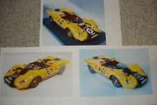 Decals Ferrari 350 P4 Gunston different Versions  1/43 only Decal n. AMR Feeling