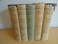 WITHERBY 5 VOLS HANDBOOK OF BRITISH BIRDS COL PLTS MAPS ORNITHOLOGY oology 1943