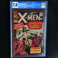 X-MEN #5 (1964) 💥 CGC 7.0 White Pgs 💥 3rd App of MAGNETO! 2nd Scarlet Witch