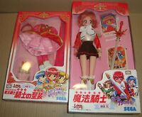 MAGIC KNIGHT RAYEARTH ACTION DOLL HIKARU SHIDOU  + RED DRESS SEGA 1995 (CLAMP)