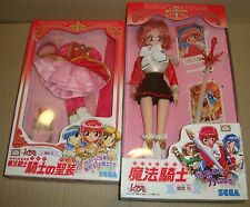 MAGIC KNIGHT RAYEARTH ACTION DOLL HIKARU SHIDOU  + RED DRESS SEGA 1995 (CLAMP)
