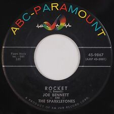 JOE BENNETT and SPARKLETONES: Rocket ROCKABILLY USA ABC Orig 45 Hear