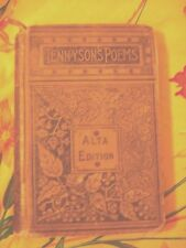 TENNYSON'S POEMS ILLUSTRATED Alfred Tennyson Porter & Coates