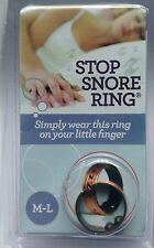 Stop Snore Ring The Simple to Use Highly Effective Anti Snoring Device M-l Copper