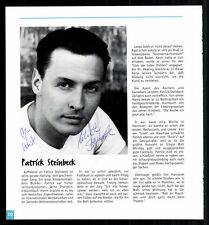 Patrick Steinbeck Top Orig. Sign. + G 7255