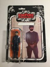 1980 Star Wars Empire Strikes Back Figure Bespin Security Back Card & Bubble