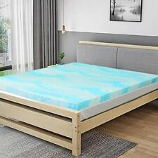 Gel Memory Foam Mattress Topper King Queen Twin Full Size Soft Bed Pad Comfort