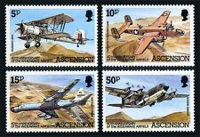 Ascension 309-312, MNH. Wideawake Airfield, 40th anniv. 1982
