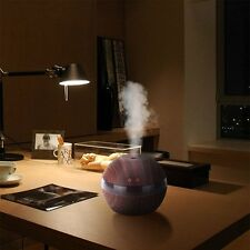 New Wood LED Ultrasonic Aroma Aromatherapy Humidifier Air Essential Oil Diffuser