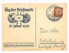 BB270 1937 Germany Chemnitz Berlin Postcard {samwells-covers}PTS