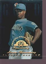 LIVAN HERNANDEZ 1998 LEAF FRACTAL FOUNDATIONS MINT SP FLORIDA MARLINS /3999
