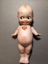 Antique Bisque Rose Oniel Kewpie Doll 8 Inches Tall