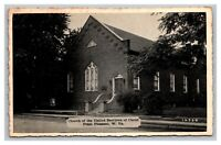 Vintage 1930's Photo Postcard Church of the United Brethren Point Pleasant WV
