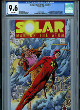 Solar Man of the Atom Issue #3 1991 CGC 9.6 NM+ Valiant Comics  V2 Amricons K5
