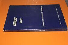 (90) FIAT 128 Caractéristiques et données