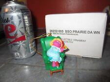 GROLIER Christmas on Sesame Street PRAIRIE DAWN Ornament with BOX