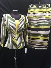 """LILY&TAYLOR SKIRT SUIT/RETAIL$229/SIZE 22/LINED/SKIRT LENGTH 33""""/NEW WITH TAG"""
