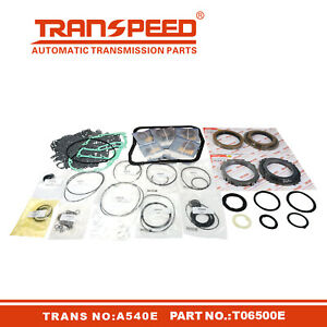 A540E Transmission Master Rebuild Kit Seal For TOYOTA CAMRY Transpeed T06500E