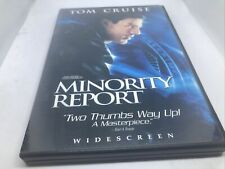Minority Report Widescreen Two Disc Special Edition Dvd Very Good Condition Dv6