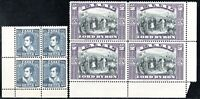 GREECE,1924 LORD BYRON.VL.417-418 MNH BLOCK OF 4,SIGNED UPON REQ . Z48