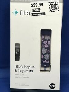 Watch Strap for Fitbit Inspire & Inspire HR - Small - Bloom Pattern Bracelet