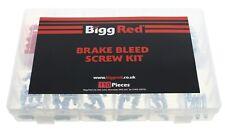 Bigg Red Bleed Screw assortment 110 Pieces Metric UNF plus Caps BRBKIT110