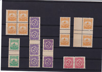 german stadt post privat post karlsruhe private post  stamps ref r14105
