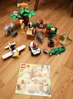 RARE LEGO DUPLO 6156 PHOTO SAFARI LOVELY COMPLETE WITH INSTRUCTIONS RETIRED