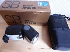Nikon Speedlight SB 50 DX In OVP mit Tasche, Blitz , Elektronenblitzgerät