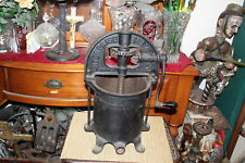 Antique Cast Iron Enterprise Mfg. Co. Sausage Stuffer Fruit Wine Press-Large